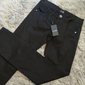 Armani stright leg denim black jeans Nwt